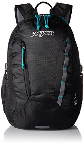 JanSport Womens Outdoor Mainstream Womens Agave Backpack - Black / 19H X 13.5W X 10D