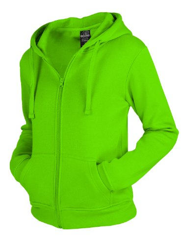 "Urban : ""Ladies Zip Hoody"" taille: XL, couleurs: limegreen …TB079"