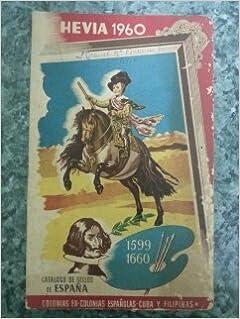 CATALOGO DE SELLOS DE ESPAÑA 1960: Amazon.es: CATALOGO HEVIA: Libros