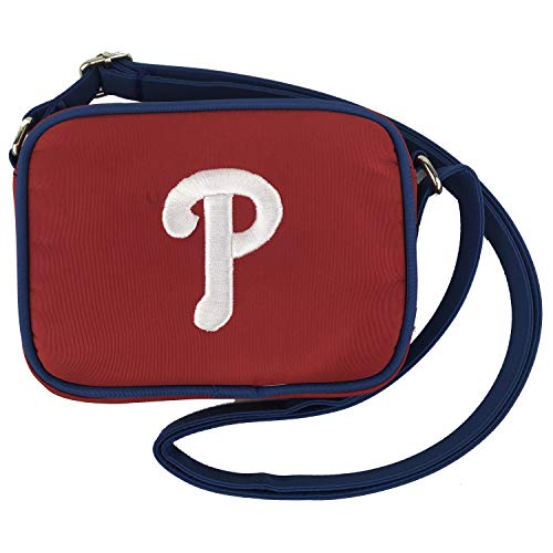 Charm 14 Cross Body Purse with Touchscreen for All Smartphones - Retail Packaging - Philadelphia Phillies