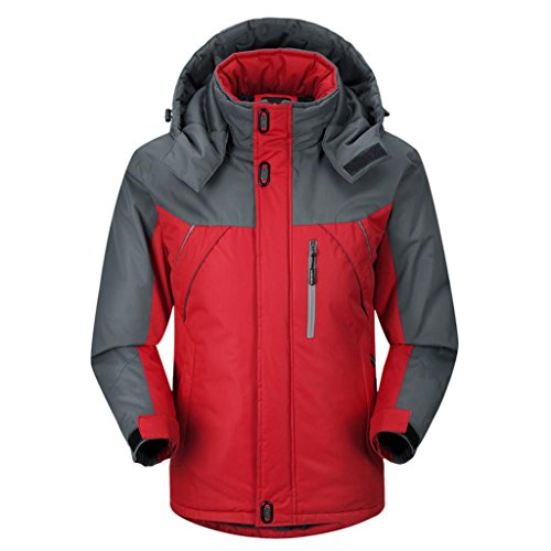 Caldo L'inverno Traspirante Cotone Uomo E 90 Giù Hoodiewaterproof Laminato Addensato Hhord Il 120cm Da Alpinismo Da Autunno Sci Giacca xZY00
