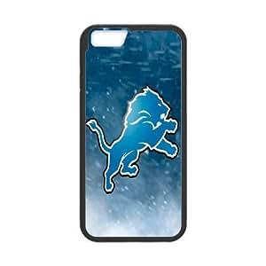 iphone6s 4.7 inch Phone Case Black Detroit Lions JJL6384706