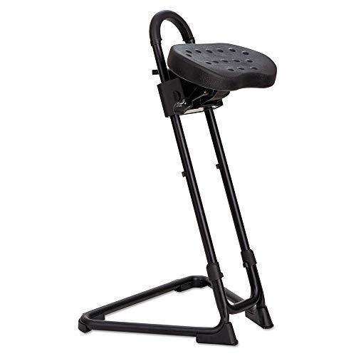 Alera Plus SS600 SS Series Sit/Stand Adjustable Stool, Black ()