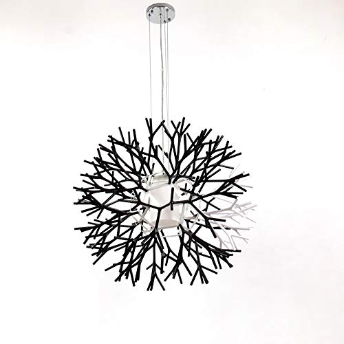 Chitty Simple Twig Coral Chandelier Creative Lantern Chandelier Living Room Bedroom Balcony Exhibition Hall Lamp Resin Lampshade Glass Lamp Chandelier Creative