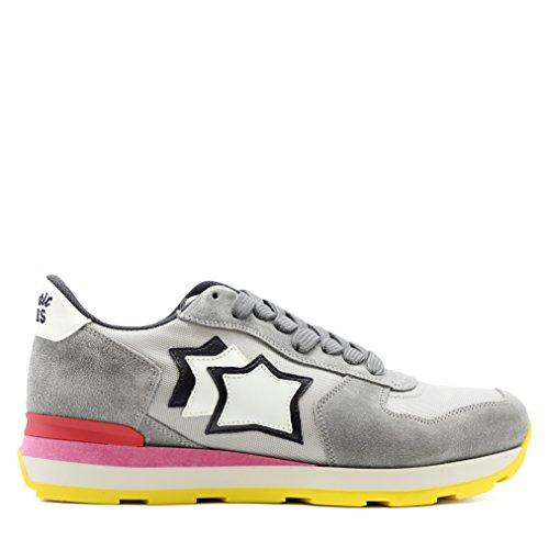 Donna Silver Atlantic 38 Stars Sneakers Vega Tg 07t6x