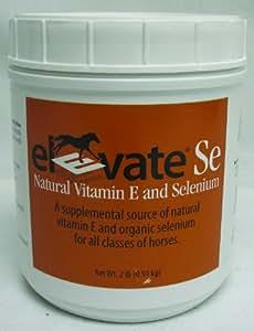 Elevate Se Vit E & Selenium Powder For Horses Net Wt. 2lb (0.91kg)