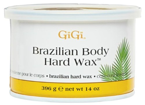 Gigi Hard Body Wax for Brazilian Sensitive Areas, 14oz