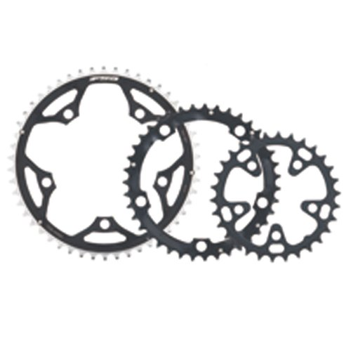 FSA Pro Road 44-Tooth/9-Speed Chainring (130mm, Black) ()