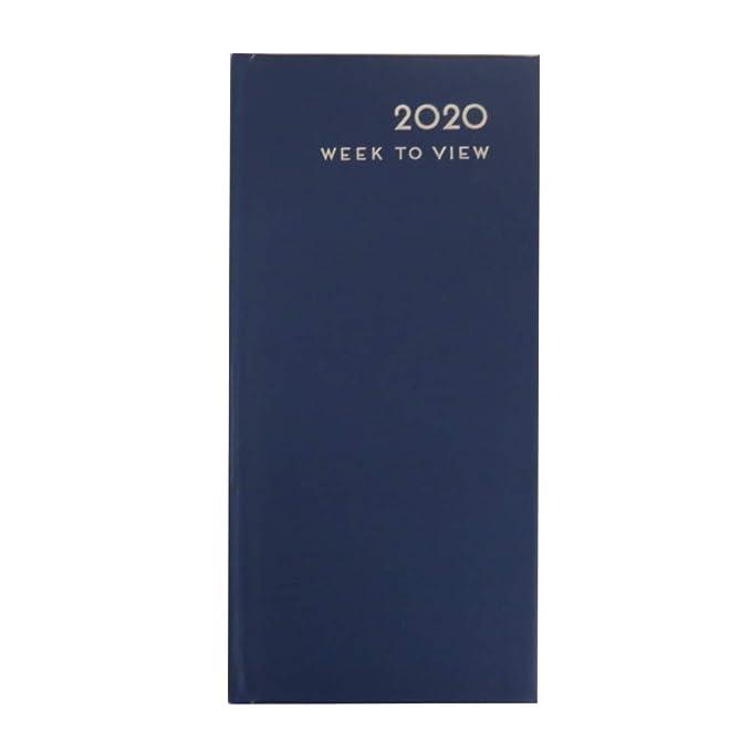 Amazon.com: Slim 2020 - Agenda clásica de tapa dura, vista ...
