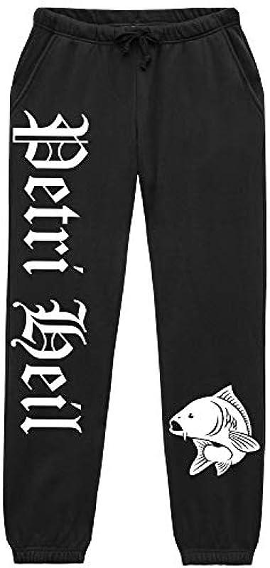 Uglyshirt89 Petri Heil męskie spodnie do biegania | Fishing Fischer Angel Angler spodnie | M1: Odzież