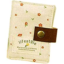 Polytree Women's Floral 20 Slots Business Card Case