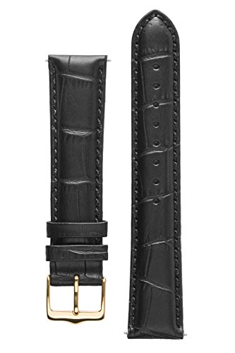 signature-senator-in-black-18-mm-short-watch-band-replacement-watch-strap-genuine-leather-gold-buckl