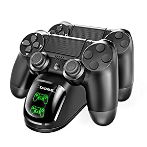 Dobe Dual Shock Controller Dual USB Charging Charger Docking Station for PS4/PS4 Slim/PS4 Pro Controller