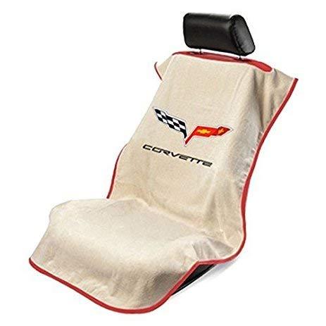 Seat Armour SA100COR6T Tan Corvette C6 Seat Protector Towel