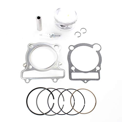 NICHE Standard Bore Piston Gasket Ring Kit for Yamaha Big Bear 350 - Piston Bear Big