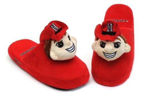 Ncaa Mascotte Pantoffels Ncaa Nebraska Cornhuskers