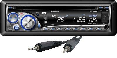 JVC KD-G 441 Car Stereo ( Front AUX-Input,USB )