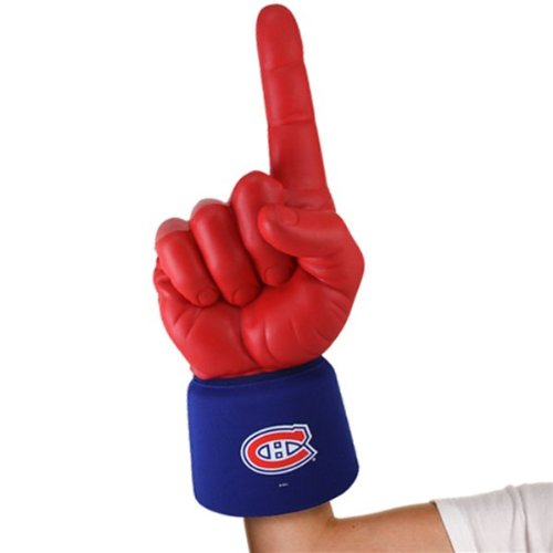 NEW Montreal Canadians #1 Ultimate Fan NHL Foam Hand Finger Officially Licensed by the National Hockey League
