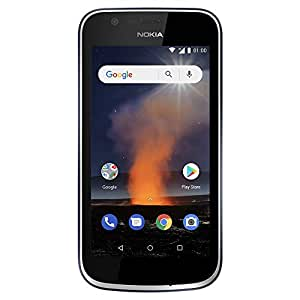 brand new df87a ea9c4 Nokia 1 - Android One (Go Edition) - 8 GB - Dual SIM LTE Unlocked  Smartphone (AT&T/T-Mobile/MetroPCS/Cricket/H2O) - 4.5