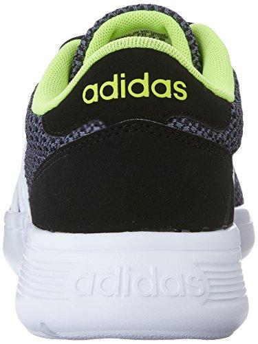 adidas NEO Lite Racer estilo de vida del hombre Runner Zapatillas Negro/Blanco
