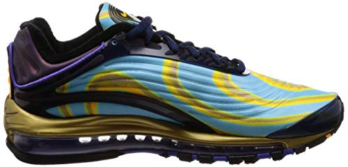 laser 001 Sneakers Air Nike Max Deluxe Navy Orange Homme Basses Multicolore midnight 1zTqB