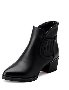 Zapatos mujer-- Botas de oficina y de trabajo/formal e informal, tarde