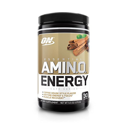 Optimum Nutrition Amino Energy, Te Latte Chai, 270 gr