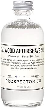 Prospector Co Aftershave Splash Atwood product image