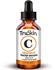 Vitamin C Serum for Face, Topical Facial Serum with Hyaluronic Acid & Vitamin E,1 fl oz (2 pack)