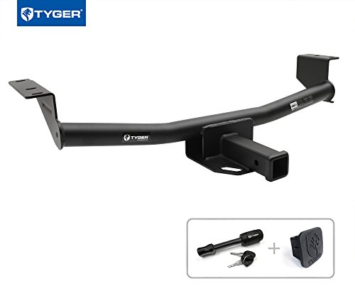 """Tyger Auto TG-HC3N0138 Class 3 Trailer Hitch Combo with 2"""" R"""