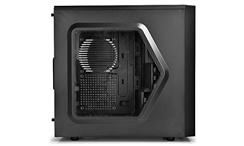DEEPCOOL-TESSERACT-SW-Mid-Tower-Computer-with-Side-Window-and-2-Blue-LED-Fans-CaseSGCCPLASTICRUBBER-COATING