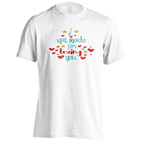 Ich Wurde Gemacht, Um Dich Zu Lieben Herren T-Shirt k918m