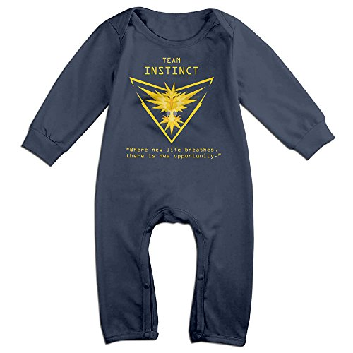 Price comparison product image Pokemon GO Team Logos (reupload Due To Own Stupidity) Logo Baby Onesie Bodysuit Toddler Clothes Jumpsuits Longsleeve