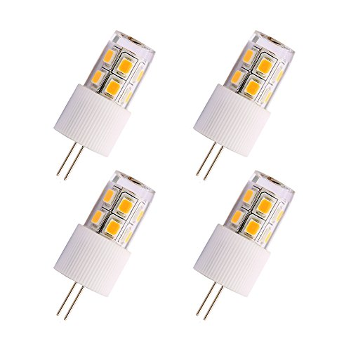DunGu G4 LED Bulbs FCC Certified 2W Equal to 20W Halogen Warm White 12V (Pack of 4) by DunGu