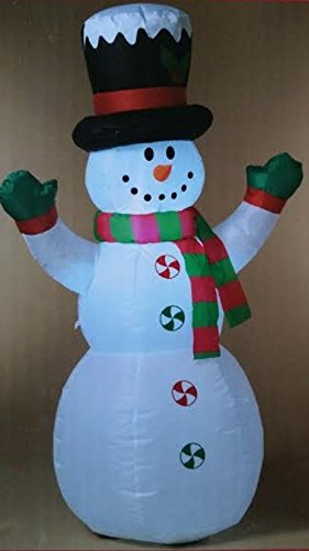 SNOWMAN 4' Airblown Outdoor Holiday Christmas Air-Blown Inflate Lighted