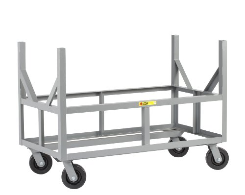 Little Giant ERBST-2448-6PH Ergonomic Bar Cradle Truck, 3000 lbs Capacity, 48'' Length x 24'' Width x 34'' Height by Little Giant