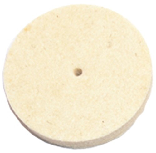 "Jewelers Felt Wheel Buff 1-1/4"" Diameter X 1/4"" Thick Medium"