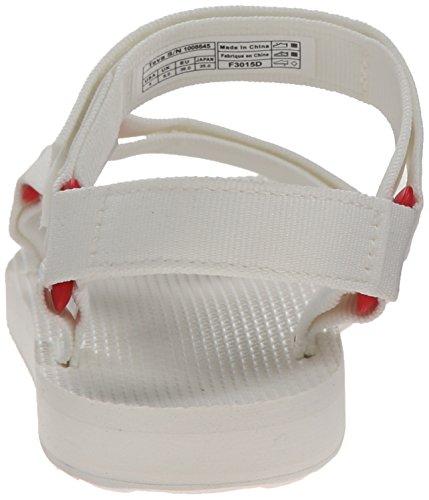 Teva Original Universal Sport Lona Sandalia Bright White
