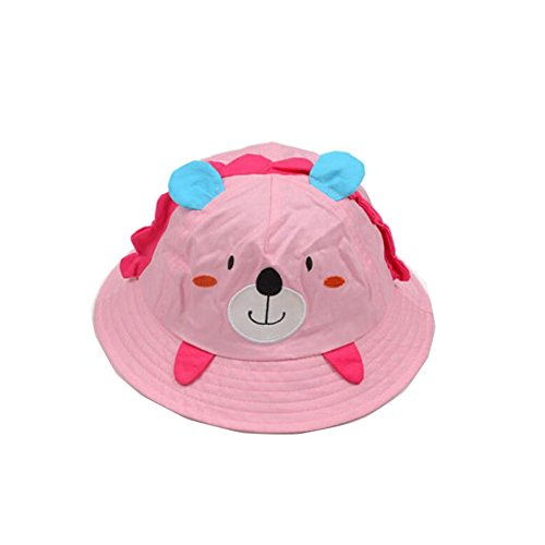 1179377f Cute Baby Sun Protection Hat Infant Floppy Cap Cotton Sun Hat 1-3 Years Old