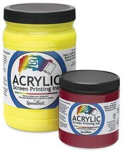 Speedball Permanent Acrylic Screen Printing Ink