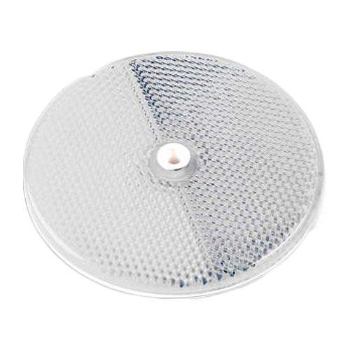 3 3/8 Diameter Pack of 100 Clear-Bulk Ctr Cortina Safety