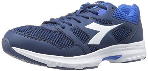 Diadora Men's Shape 6 Running Shoe Classic Navy/White eR3Ihs