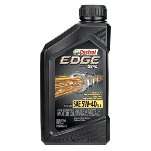 Castrol 06249 EDGE 5W-40 SPT