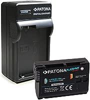 PATONA 3en1 Cargador + Platinum Batería como EN-EL15 Compatible ...