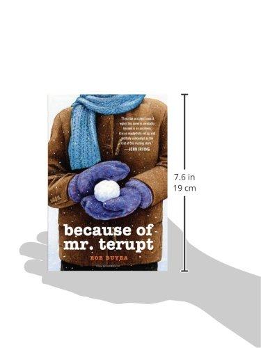 Because Of Mr Terupt Rob Buyea 9780375858246 Amazoncom Books