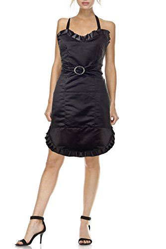 Simply Savvy Co USA Chemical Resistant 'To Dye For' Hairdresser Aprons for Women with Pockets Small
