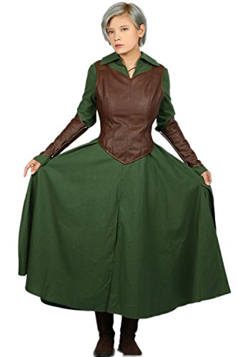 Tauriel The Hobbit Costume (Tauriel Costume Outfit for Womens Halloween Cosplay L)