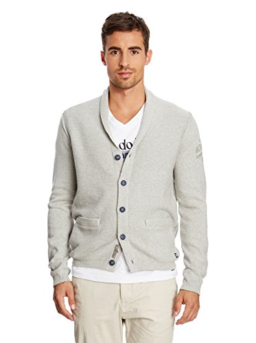 Arqueonautas Pull cardigan Sweater Jacket New Grey Melange M – 5 x l