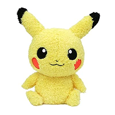 "Sekiguchi Pokémon MokoMoko Male Pikachu Plush Series, 9"": Toys & Games"