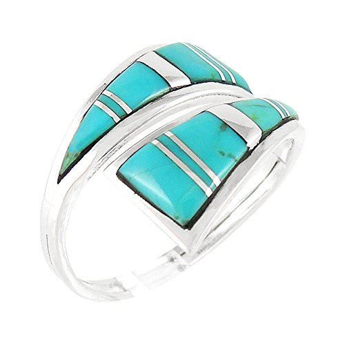 natural turquoise ring - 9